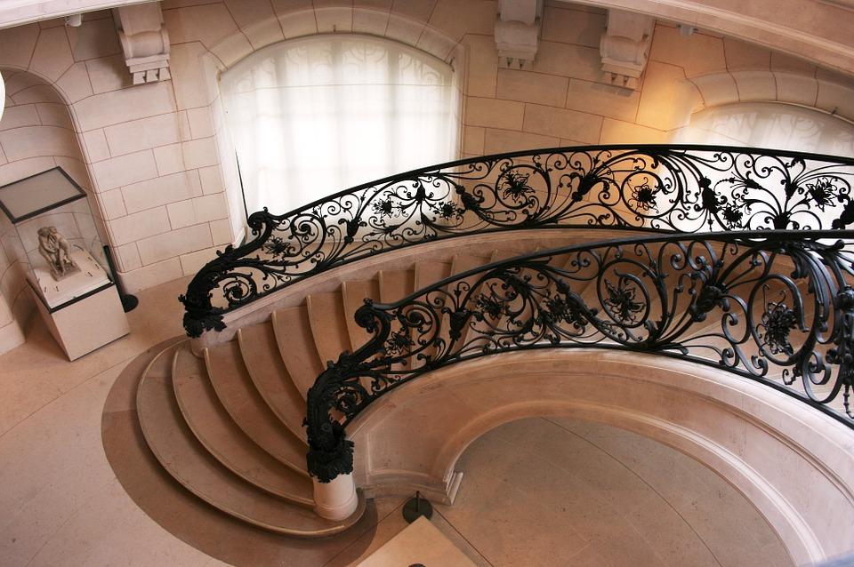 Escalier, Art Nouveau, Petit Palais, Paris, France
