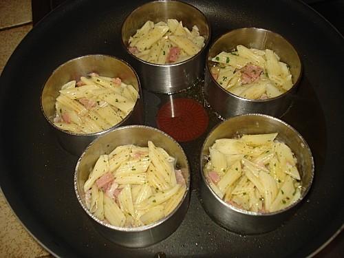 Galettes croustillantes de pâtes 2