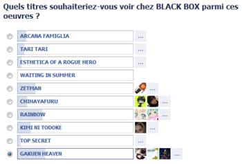 sondage black box