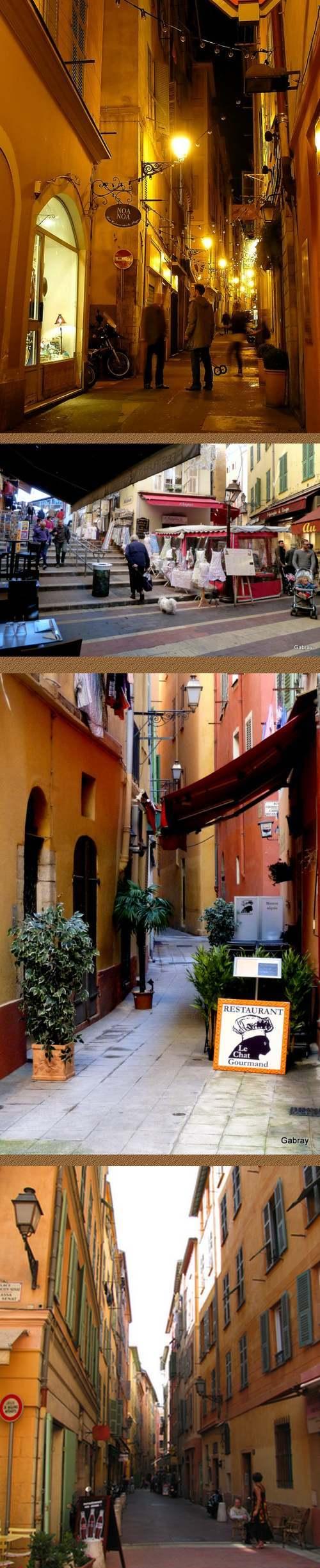 COTE D'AZUR : Villes et Villages  - Un coup de coeur pour Nice -