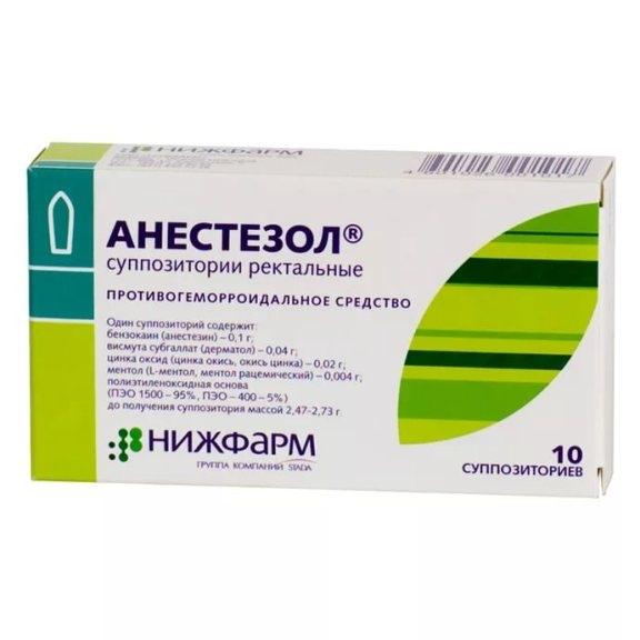 Анестезол после удаления геморроя