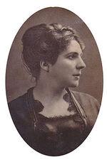 Mme AGAR, célèbre tragédienne « dégagée » de  la Comédie Française (1871)