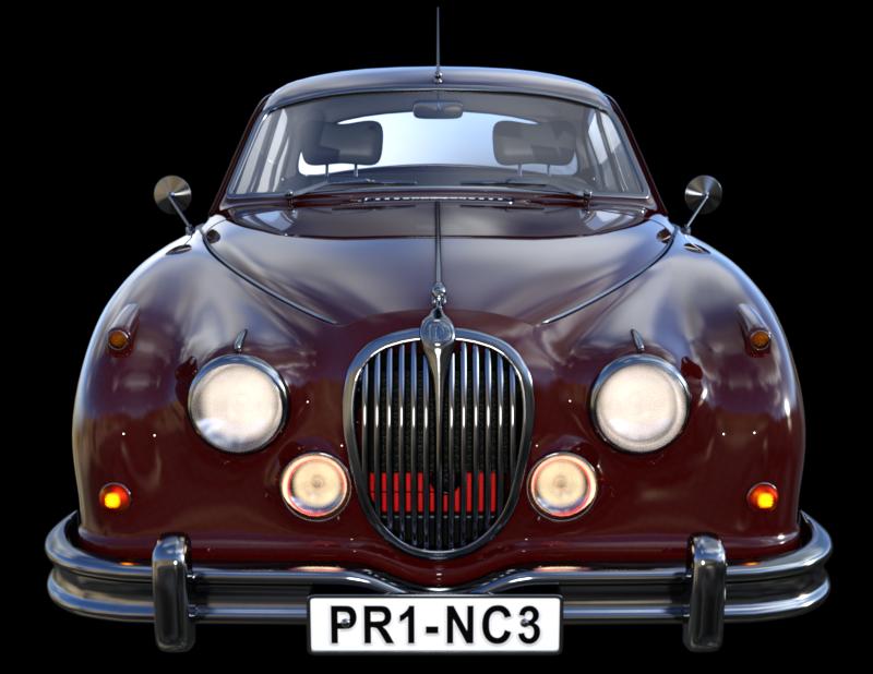 Image de voiture de prestige (tube-render)