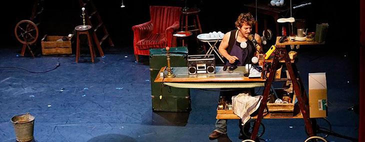 «Déluge», spectacle de jonglerie et magie nouvelle, à Vieux-Condé