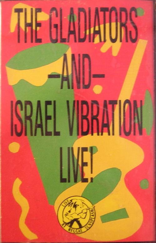 "The Gladiators & Israel Vibration : Album "" Live At Reggae Sunsplash 82 "" Sunsplash Records VSLP 8925 [ US ]"