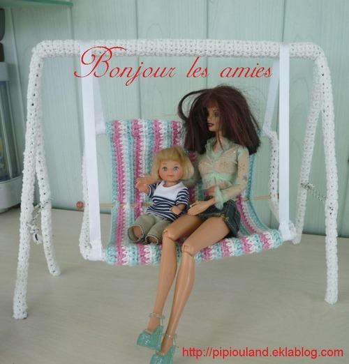 Mini sac pour barbie