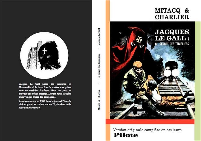 Jacques Le Gall - Le secret des Templiers, version Pilote