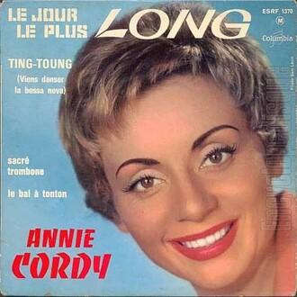 Annie Cordy, 1962 - Columbia / Pathé-Marconi (ESRF 1370)