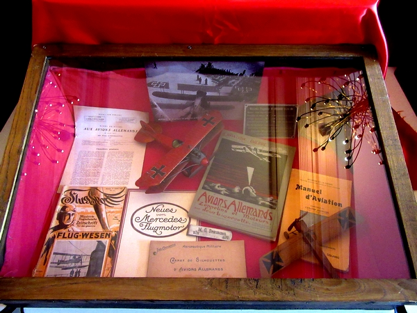 L'aviation durant la grande Guerre, passionnante exposition de Dominique Masson et la Société Archéologique et Historique du châtillonnais