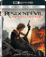 [UHD Blu-ray] Resident Evil : Chapitre Final