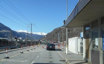Ferroutage Suisse --> Italie