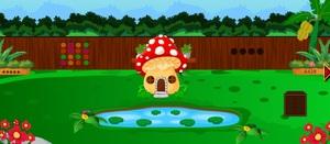 Jouer à Mushroom house frog escape