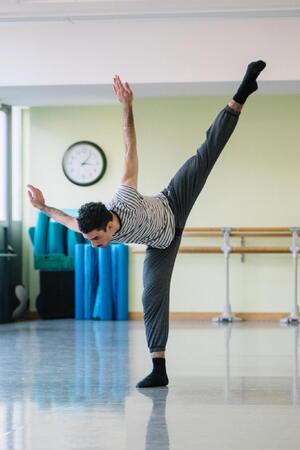 dance ballet class energy photographer gregory batardon