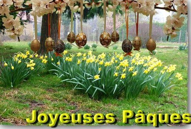 Bonne fête de Pâques.