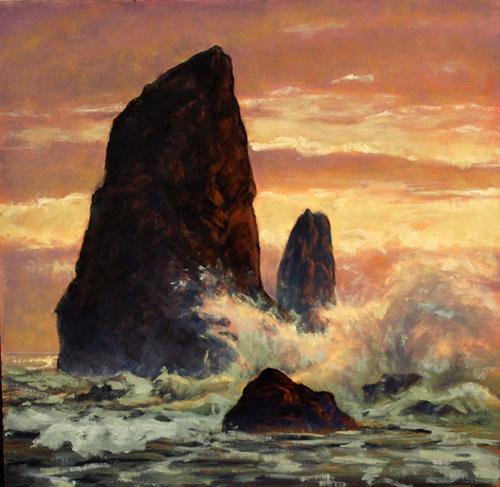 Magnifiques peintures à l'huile de Michael Orwick