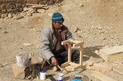 Décembre 2011- premiers travaux à Phoker