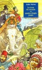 Le tour du monde en 80 jours de Jules Verne.