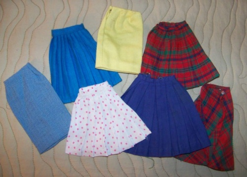 Barbie vintage : Pert Skirts
