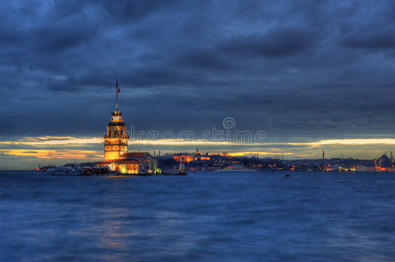 Première S Tour D Istanbul Image stock
