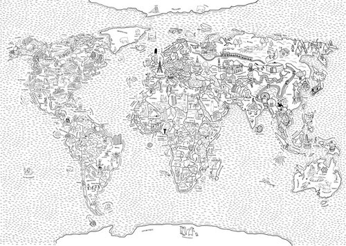 Apprentissage planète voyages Géographie