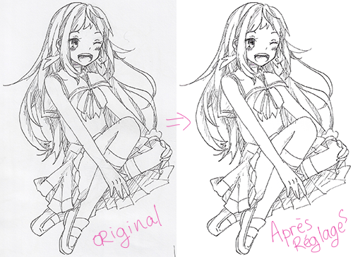 [TUTO] How to lineart part1