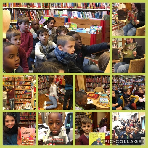 Première visite à la bibliothèque