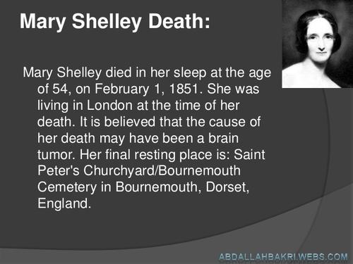 Née le 30 aout 1797, Mary Shelley, Vierge ascendant Cancer, Lune Sagittaire