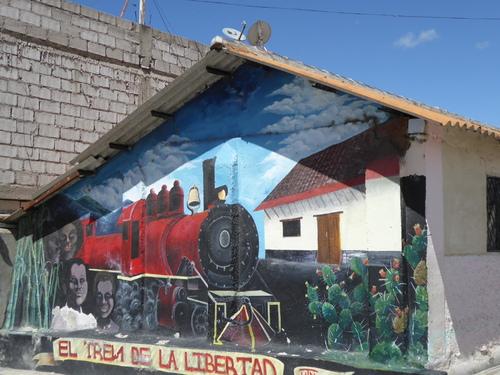 2 ème jour Train de la Libertad 2