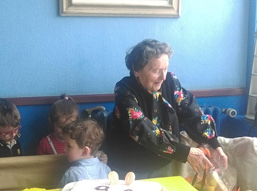 Maman est ses 90 ans ...