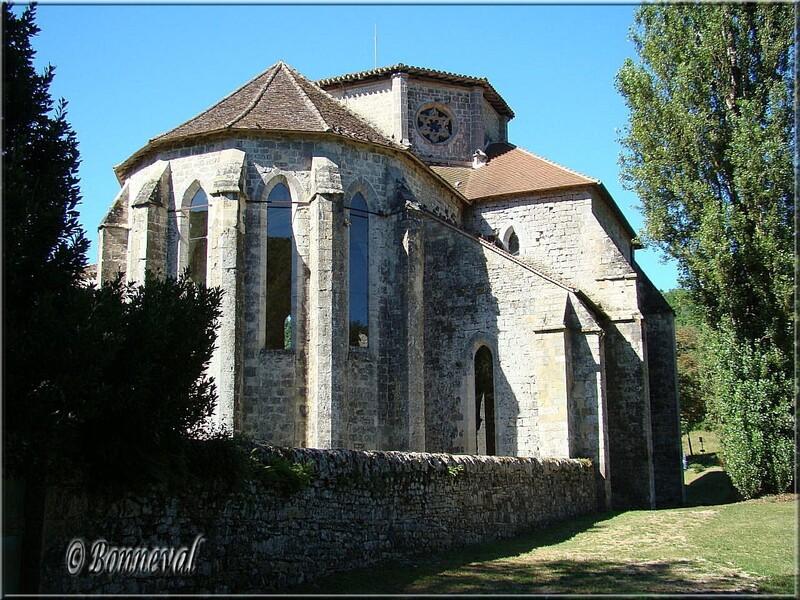 Abbaye de Beaulieu-en-Rouergue Ginal Tarn-et-Garonne Ordre cistercien