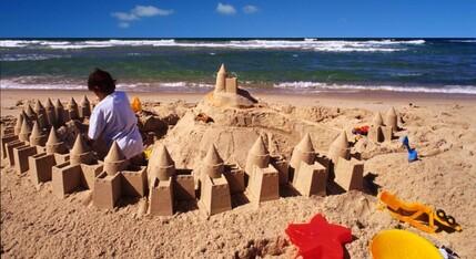 Pour faire de beaux châteaux de sable