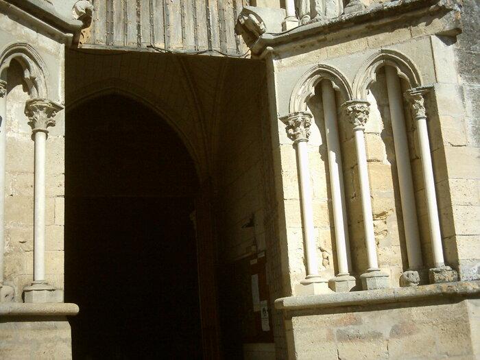 L'église Saint-Sauveur et Saint-Martin de Saint-Macaire (gironde)