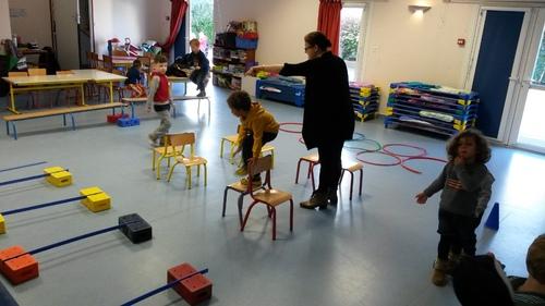 OCTOBRE 2016 - Rencontre sportive maternelle