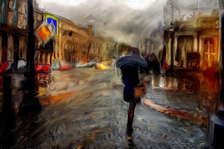 Il pleut il pleut bergère
