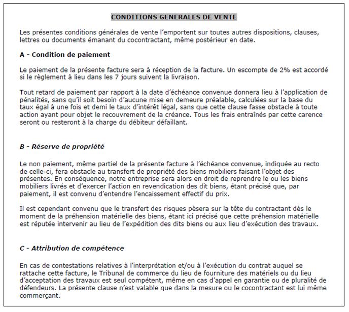 clause compromissoire exemple