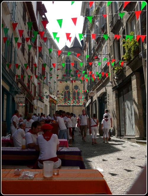 les fêtes de Bayonne 2012