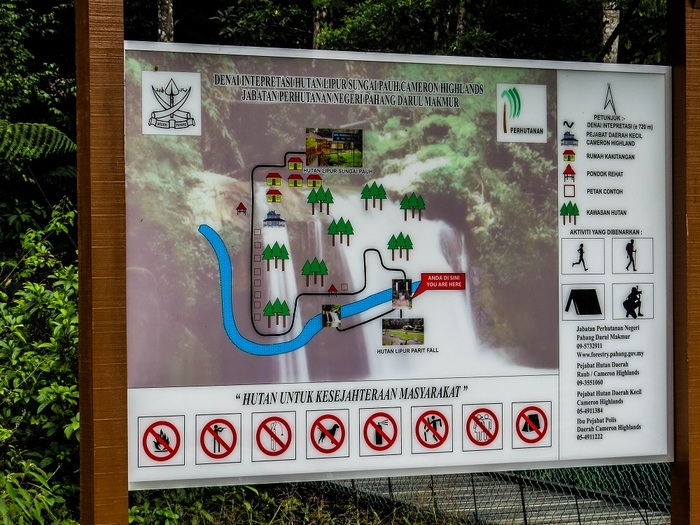4 Juillet 2016 - Tanah Rata... une journée presque en Angleterre...