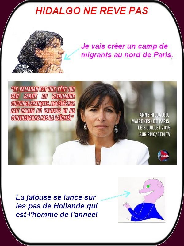 Anne Hidalgo se lance sur les pas de Hollande ?
