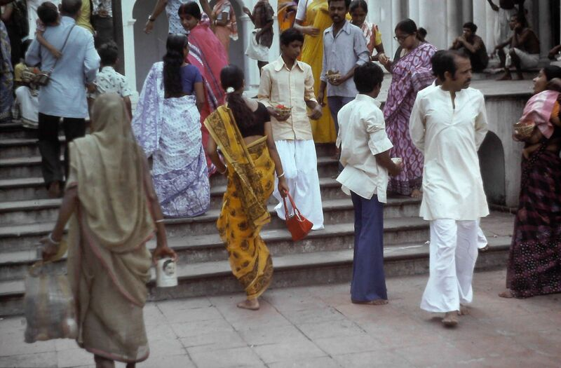 SUITE PHOTOS SUR  CALCUTTA EN INDE EN 1978