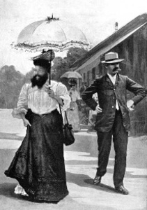 Le mari de la femme à barbe
