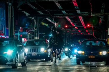 John Wick Parabellum : Photo Keanu Reeves