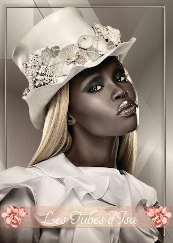 FAC0069 - Tube femme chapeau