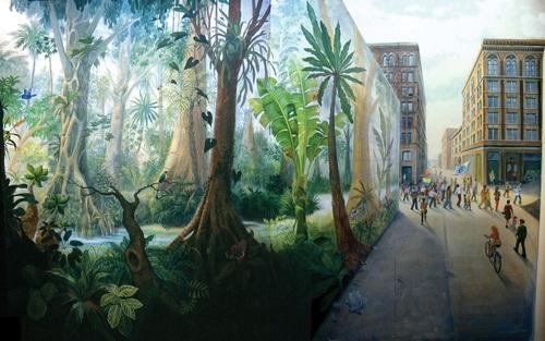 Le cours d'eau et le fleuve humain