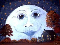 Songe sous la lune