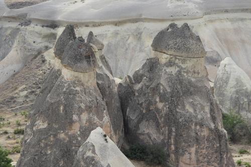 En Cappadoce : la vallée des moines