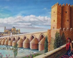 Puente San Rafael (Huile vendue)
