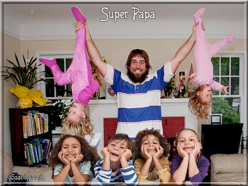 Super Papa    défi N° 8