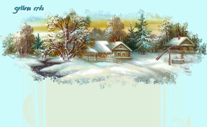 **Paysage hivernal**Papiers