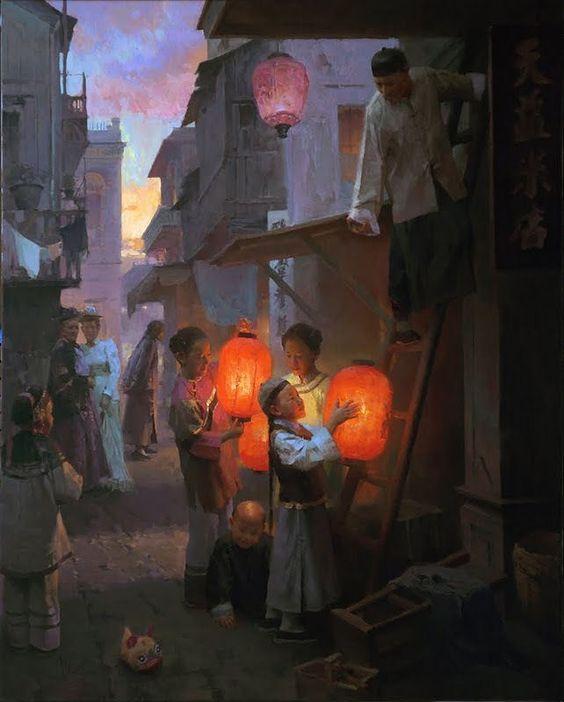 Mian Situ--  Lanterne  -: