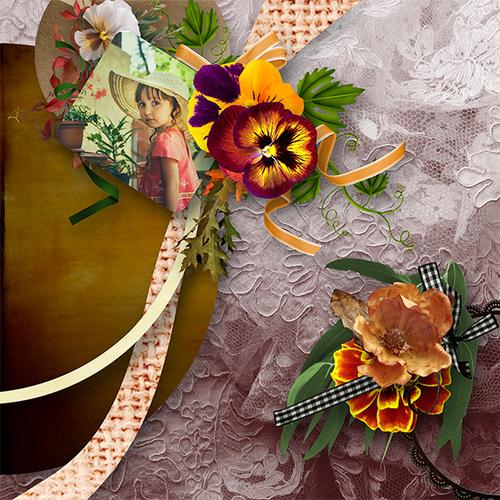 Kit Romance d'automne de Josycréations que vous trouverez ici : http://www.paradisescrap.com/fr/385-josy-creations